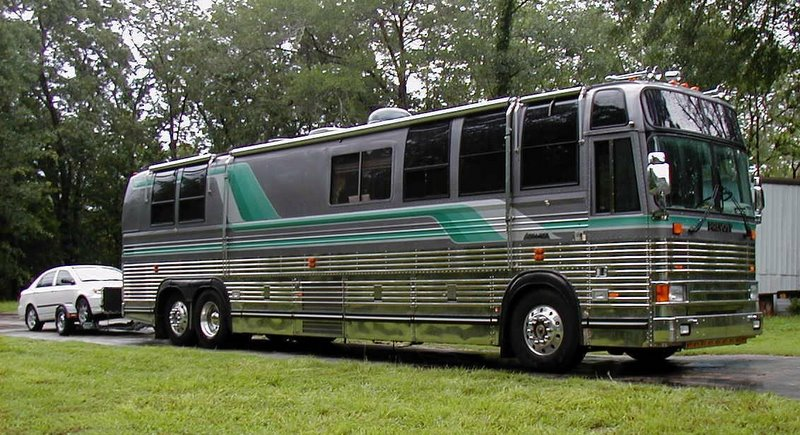 private motor coach rv motor home travel charter bus. Black Bedroom Furniture Sets. Home Design Ideas